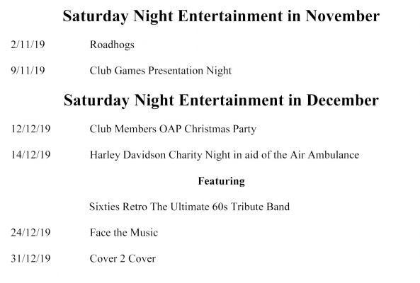 Saturday Night Entertainment